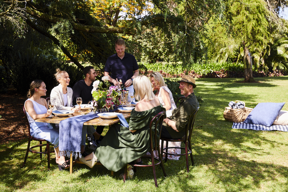 Dining in Werribee Park by The Redectory Parlour